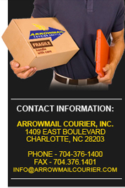 contact arrow mail courier